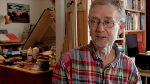 Robert Nyberg, tecknare
